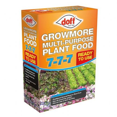 Doff Growmore 7 - 7 -7 Multi Purpose Fertiliser 2kg